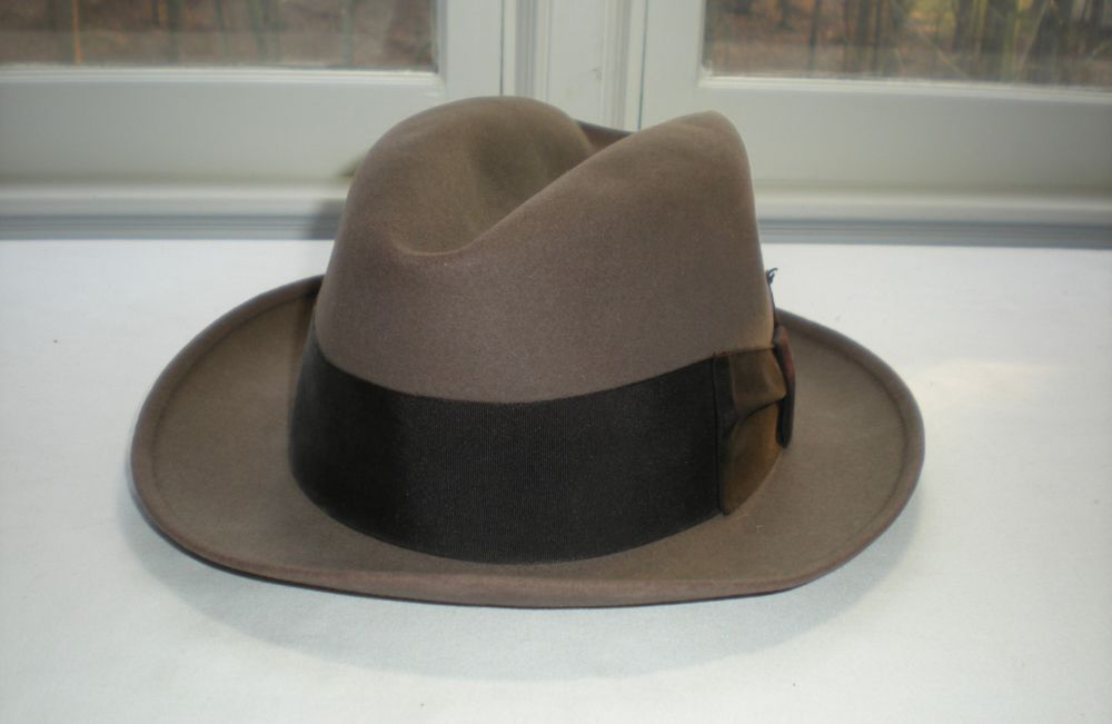 24be7a7f9ec91e Vintage Cavanagh Hats New York Men's Brown Fedora Size 7 #fashion #clothing  #shoes #accessories #vintage #vintageaccessories (ebay link)