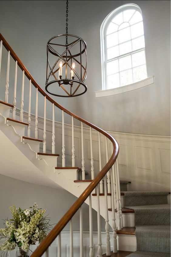 Gentil Image Result For Lights For High Foyer Foyer Decorating, Stairwell  Chandelier, Stairway Lighting,