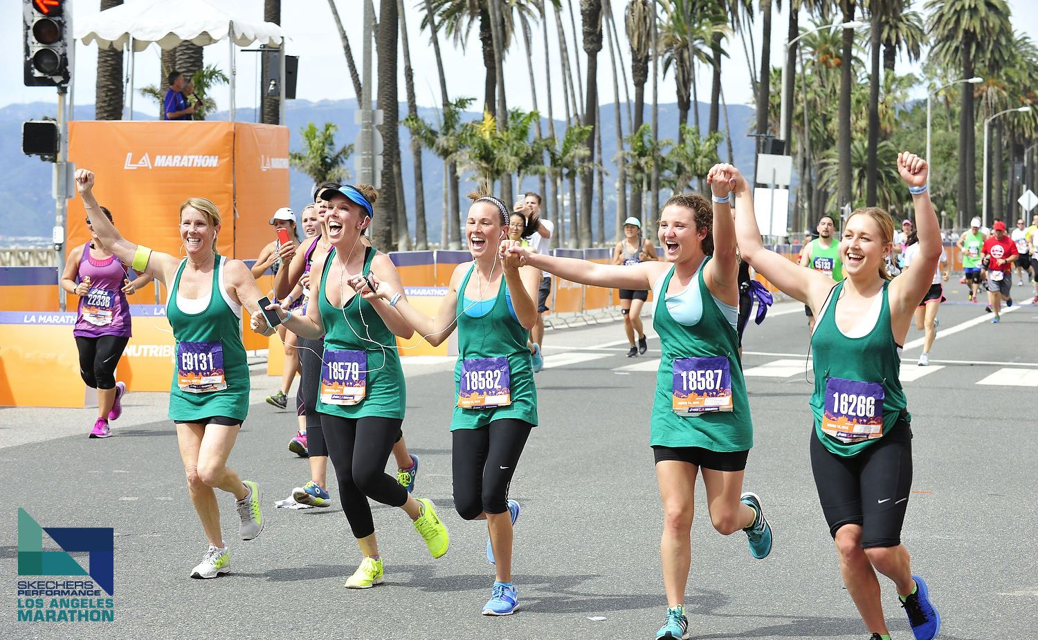 Celebrate Gal-entines day by running the Skechers Performance Los Angeles Marathon on 1/14/2015!
