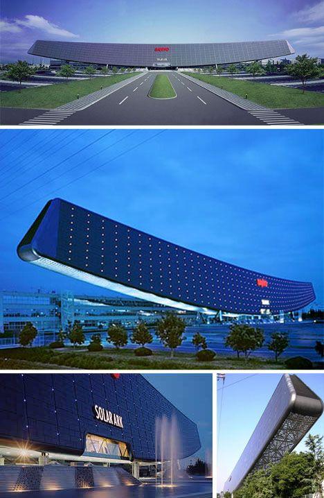 Canelievered Solar Power Arc Design