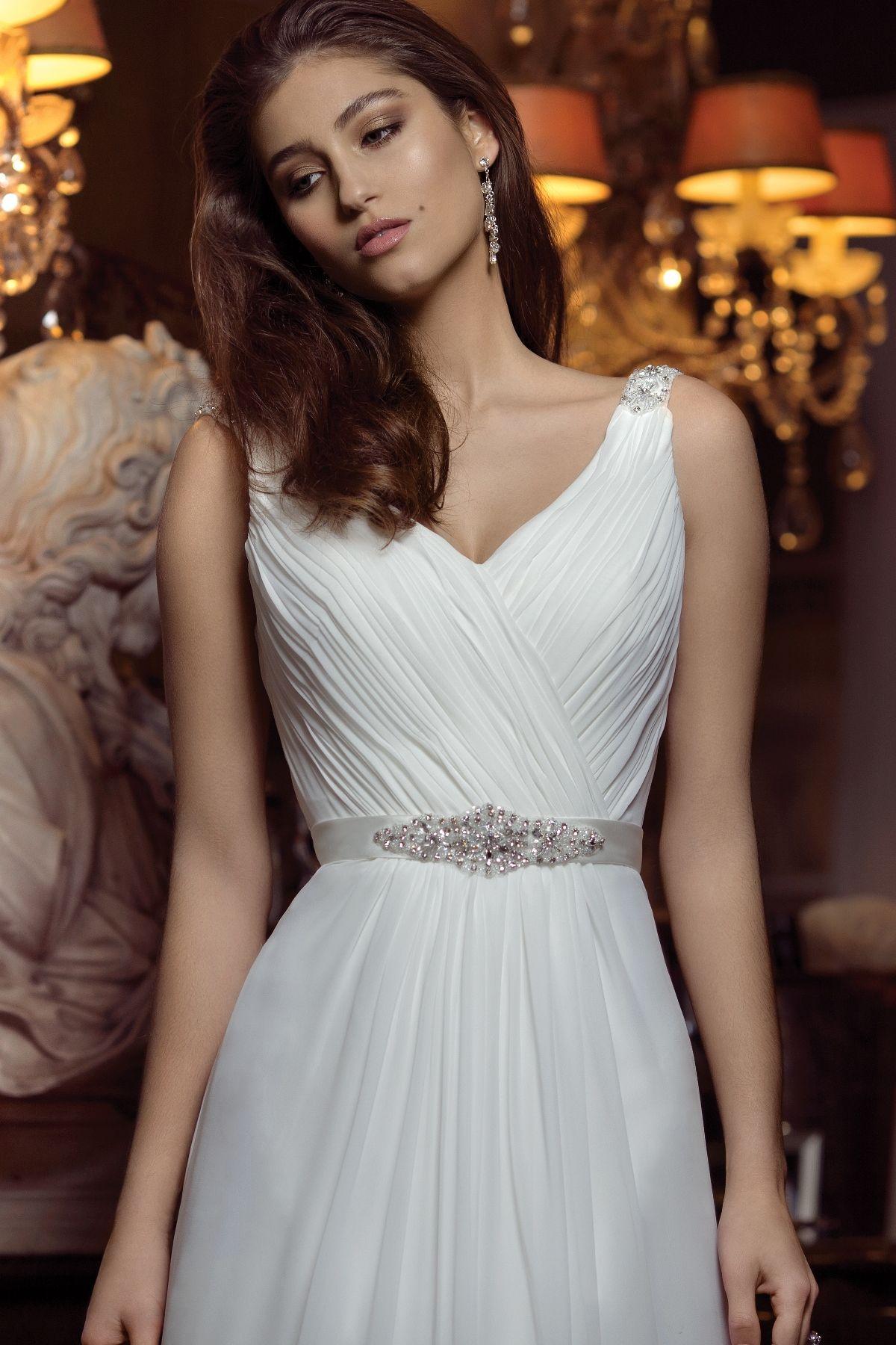 M1414Z Aspen Glam Wedding dresses, Chiffon wedding