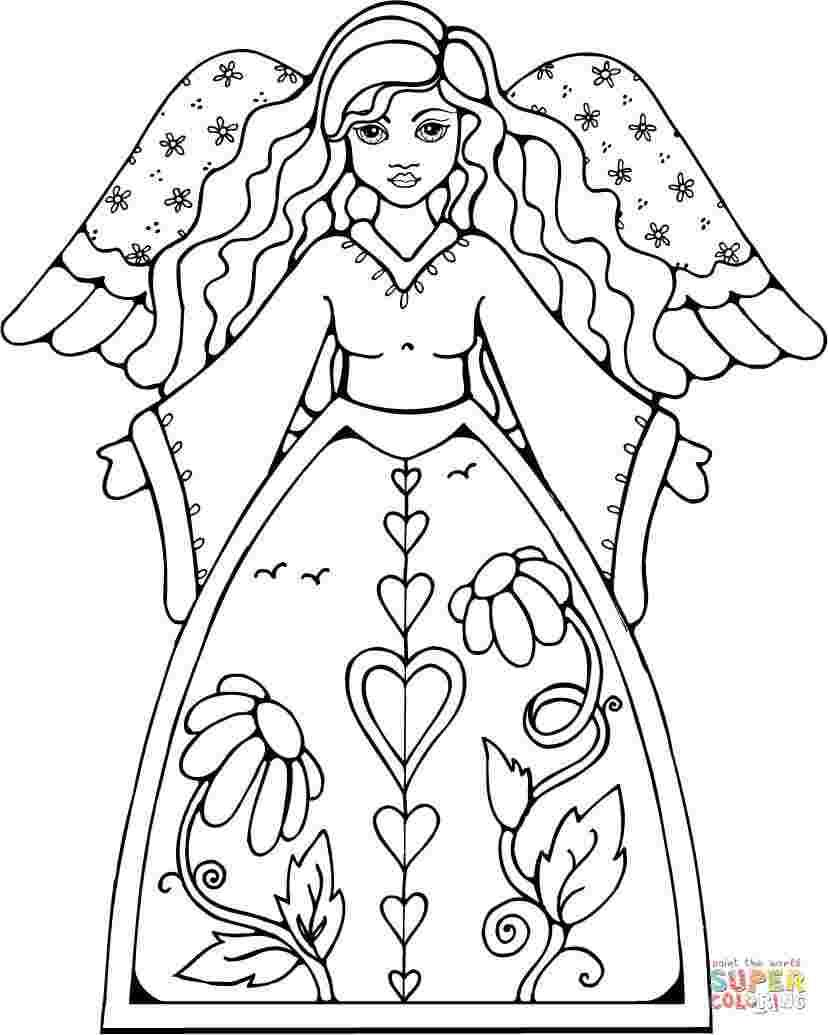 Free Angel Coloring Book Pages Angel Coloring Pages Coloring Book Pages Monster Coloring Pages