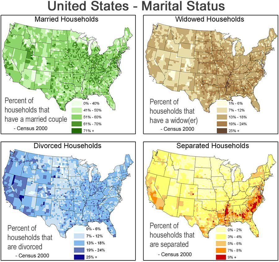 Marital status in the US. Just an interesting map of the ... on marriage in zimbabwe, marriage in iceland, marriage in mauritius, marriage in italy, marriage in the ukraine, marriage in singapore, marriage in the great depression, marriage in zambia, marriage in the temple, marriage in bahrain, marriage in the 20th century, marriage in the nicaragua, marriage in the hand, marriage in lebanon, marriage in the past, marriage in taiwan, marriage in honduras, marriage in kazakhstan, marriage through history, marriage in czech republic,