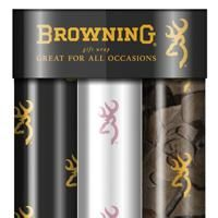 Browning Camo Gift Wrap 3-pack  My mom better wrap all my Christmas presents in this
