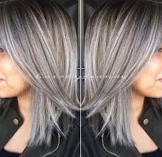 Image result for growing out the gray at 34 hair styles i feel like eventually ill have to switch to gray highlights to not be absurd pmusecretfo Choice Image