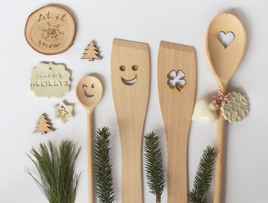 Berühmt WEihnachtsgeschenke selber machen,Weihnachten diy,Kochlöffel SX17
