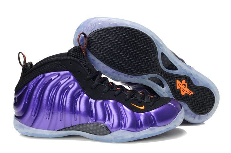 9d8f53a1def Nike Air Foamposite One Phoenix Suns Electro Purple Total Orange Black  Men s Basketball Shoes  Cheap  purple  products cheap nike shoes