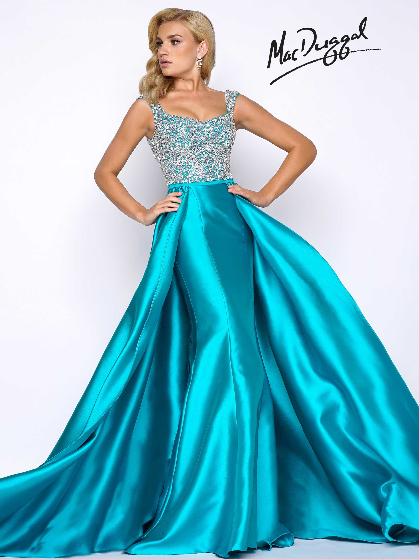 Mermaid inspired prom dress