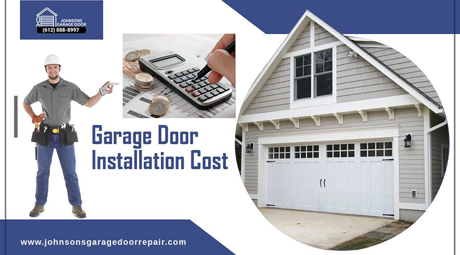 Check Out The 2020 Cost To Install A New Garage Door In 2020 Garage Door Installation Garage Doors Garage Service Door
