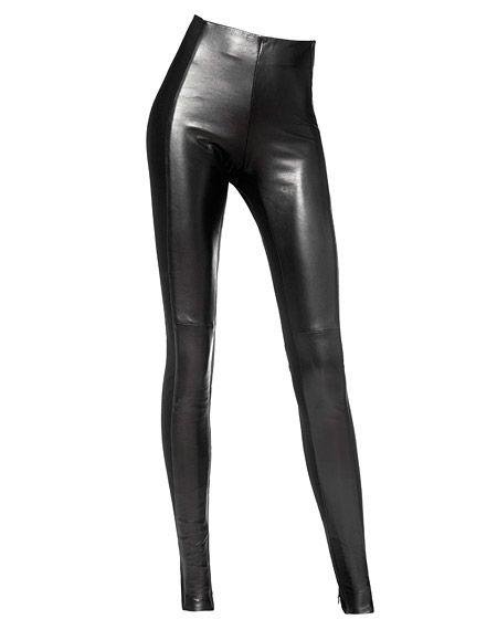 Leather leggings danier