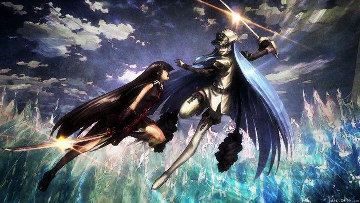 Akame vs Esdeath Fight Anime Girls Akame ga Kill 1920x1080