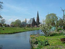 Andijk, Medemblik, North Holland, Netherlands (Konkelenberg) - Andijk (West Frisian: Andìk) is a former municipality and a village bordering Lake IJssel in the Netherlands, in the province of North Holland and the region of West-Frisia. Since 1 January 2011 Andijk has been part of Medemblik municipality.