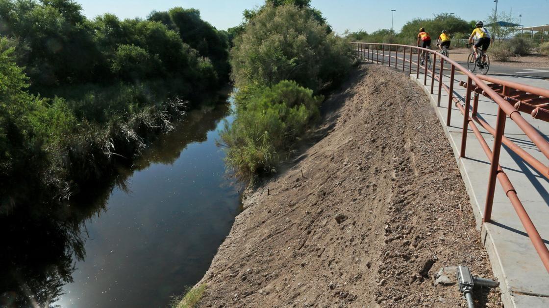 The Santa Cruz River Is Flowing Again Near Tucson S Birthplace Santa Cruz Arizona Adventure Tucson