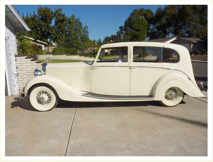 Classic Wedding Car Chicago Exterior Side Photo Of 1937