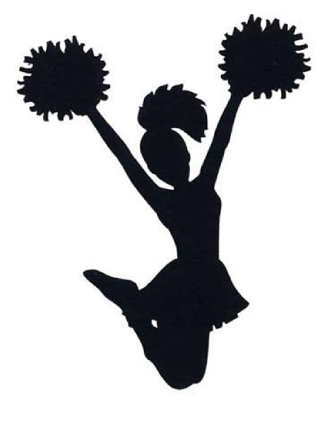 halloween cheerleader clipart