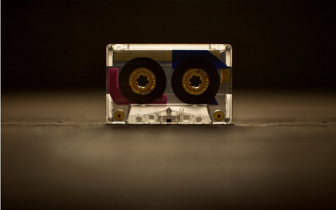 Fita Cassette Audio Wallpaper Vintage Retrô Pinterest