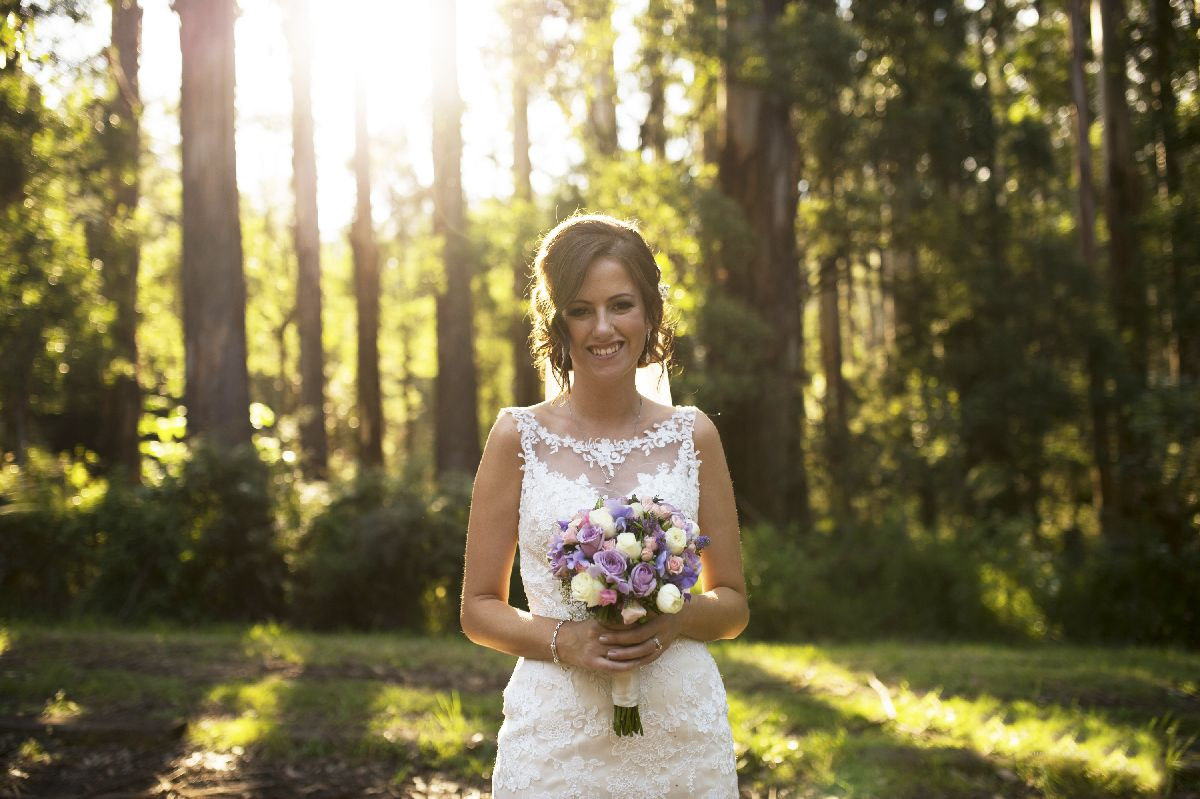 A beautiful and whimsical forest wedding - itakeyou.co.uk