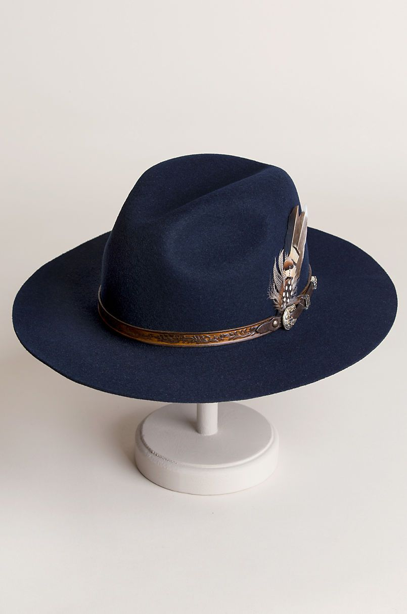 3b85db73070 Messenger Bolivian Wool Felt Outback Hat in 2019