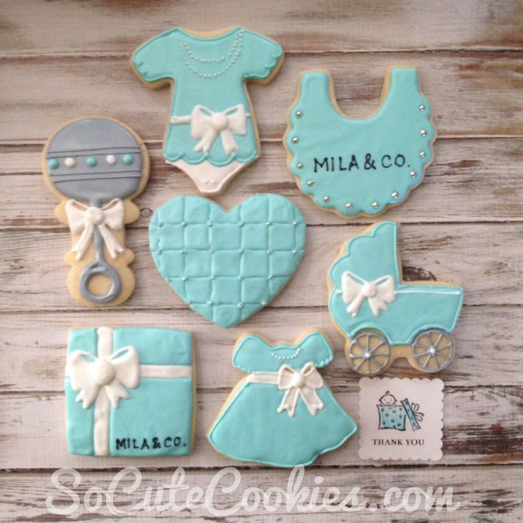 Charming Tiffany Themed Baby Shower