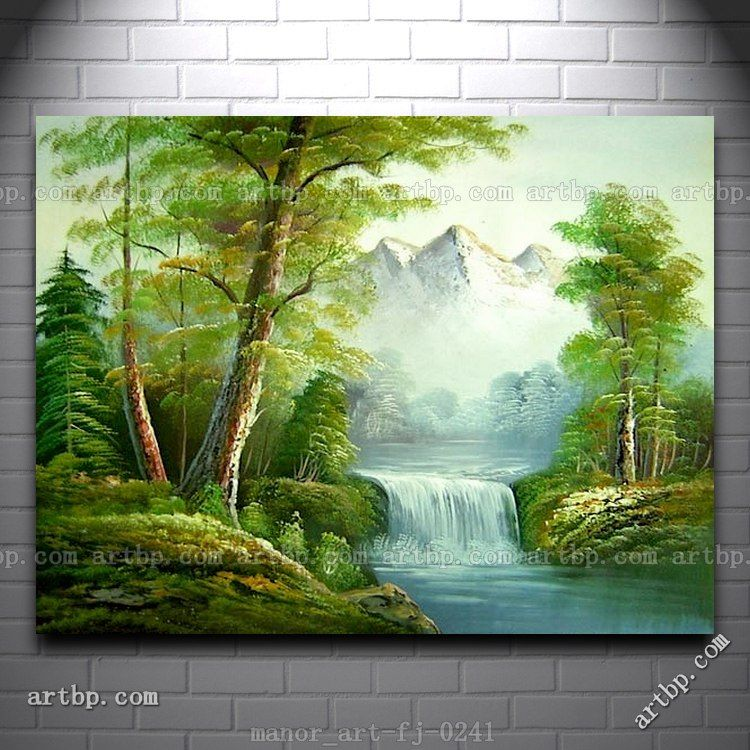 Canvas Wall Art Landscape Oil Font B Painting B Font Modern Decor