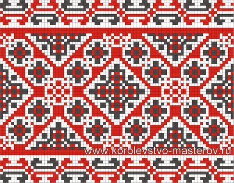 Украинская вышивка схемы орнамент
