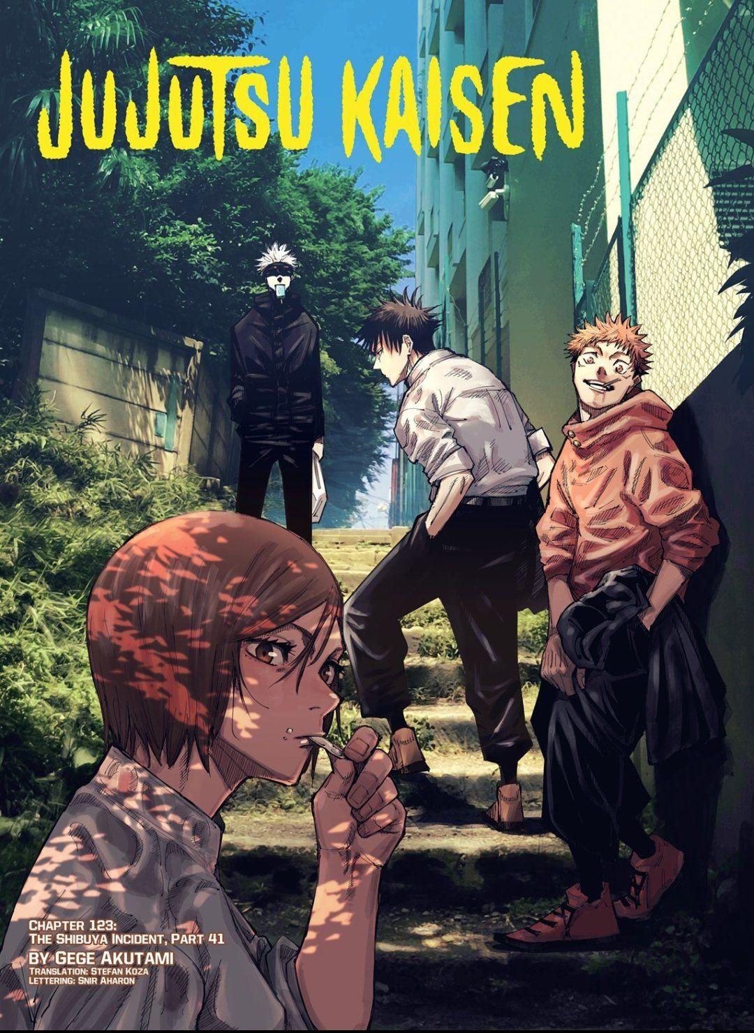 Anime Shot On Twitter In 2021 Jujutsu Manga Covers Anime