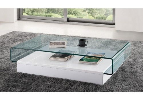 Table Basse Design En Verre Danae Table De Salon Table Basse Table Basse Salon