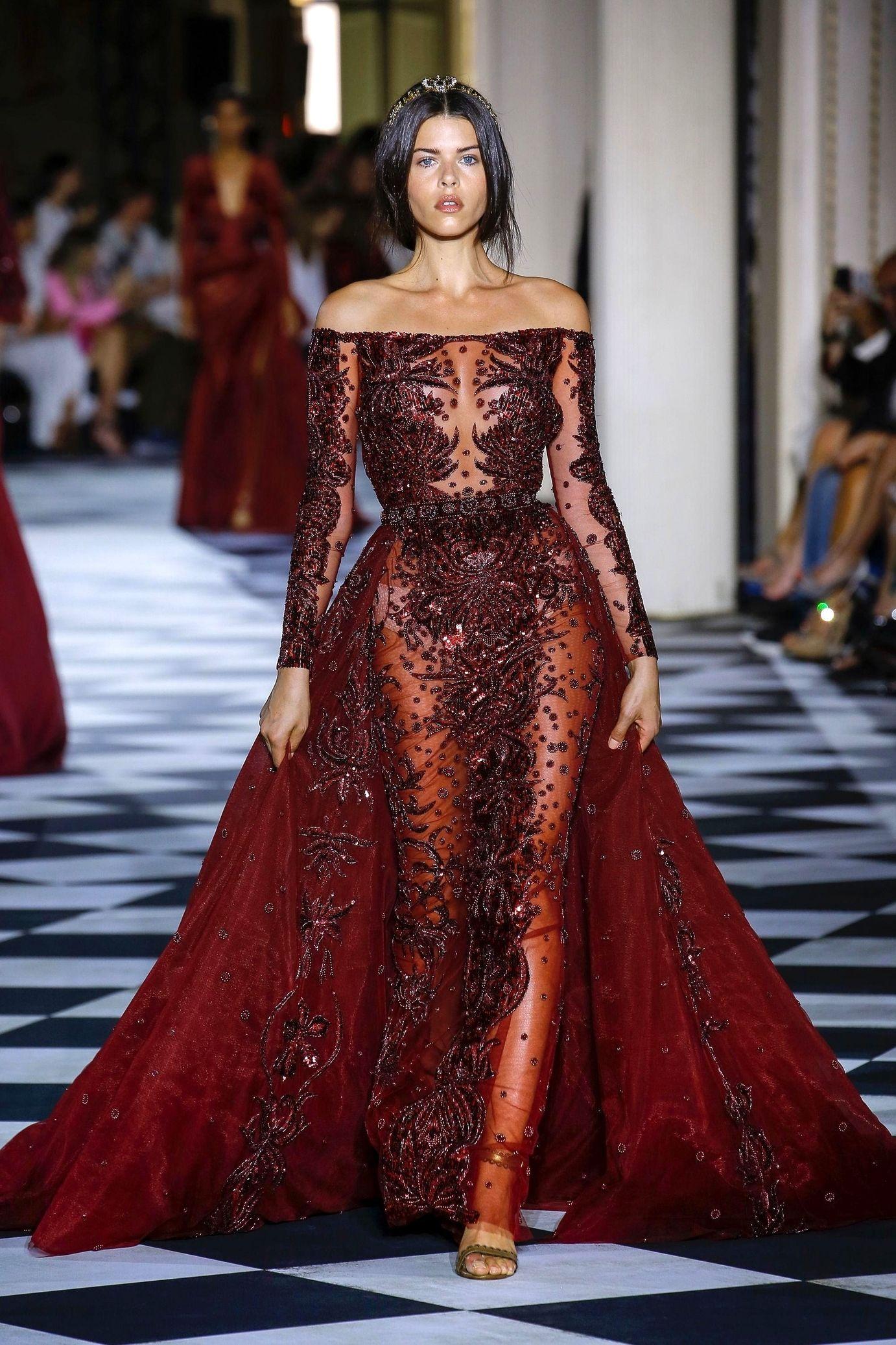 Winter collection haute couture zuhair murad paris