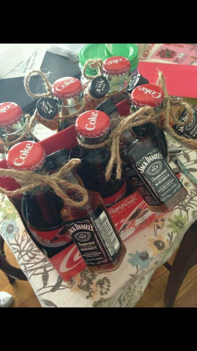 jack and coke homemade gifts pinterest coke gift and 21st
