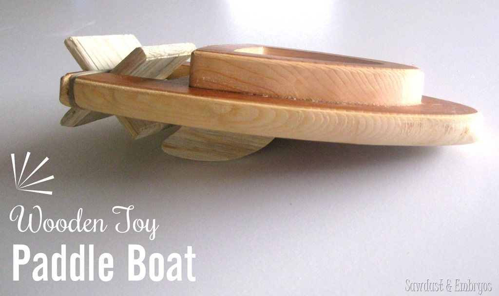 Wooden Paddle Boat | Pinterest | Paddle boat, Wooden toys and Toy