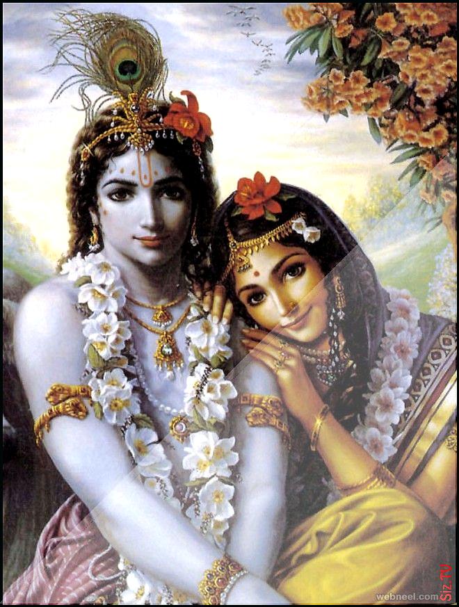 Beautiful Paintings Stunning Painting Artists Krishna Indian Radha