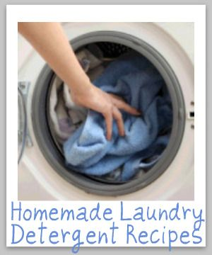 Liquid or powder homemade laundry soap