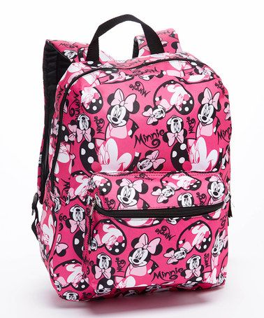5dc602dfbde Look at this  zulilyfind! Minnie Mouse Backpack by Minnie Mouse ...