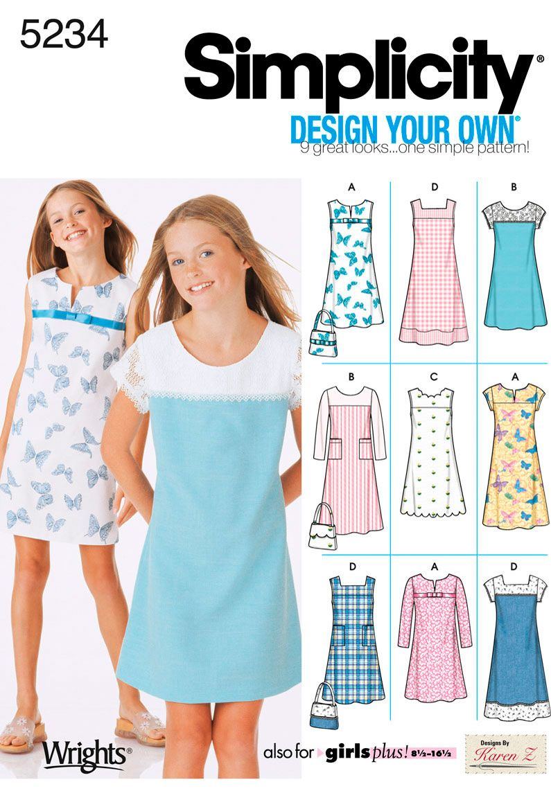 Simplicity : 5234, Sizes 8-16, 4-H STEAM Level 1, year 2-3 (no ...