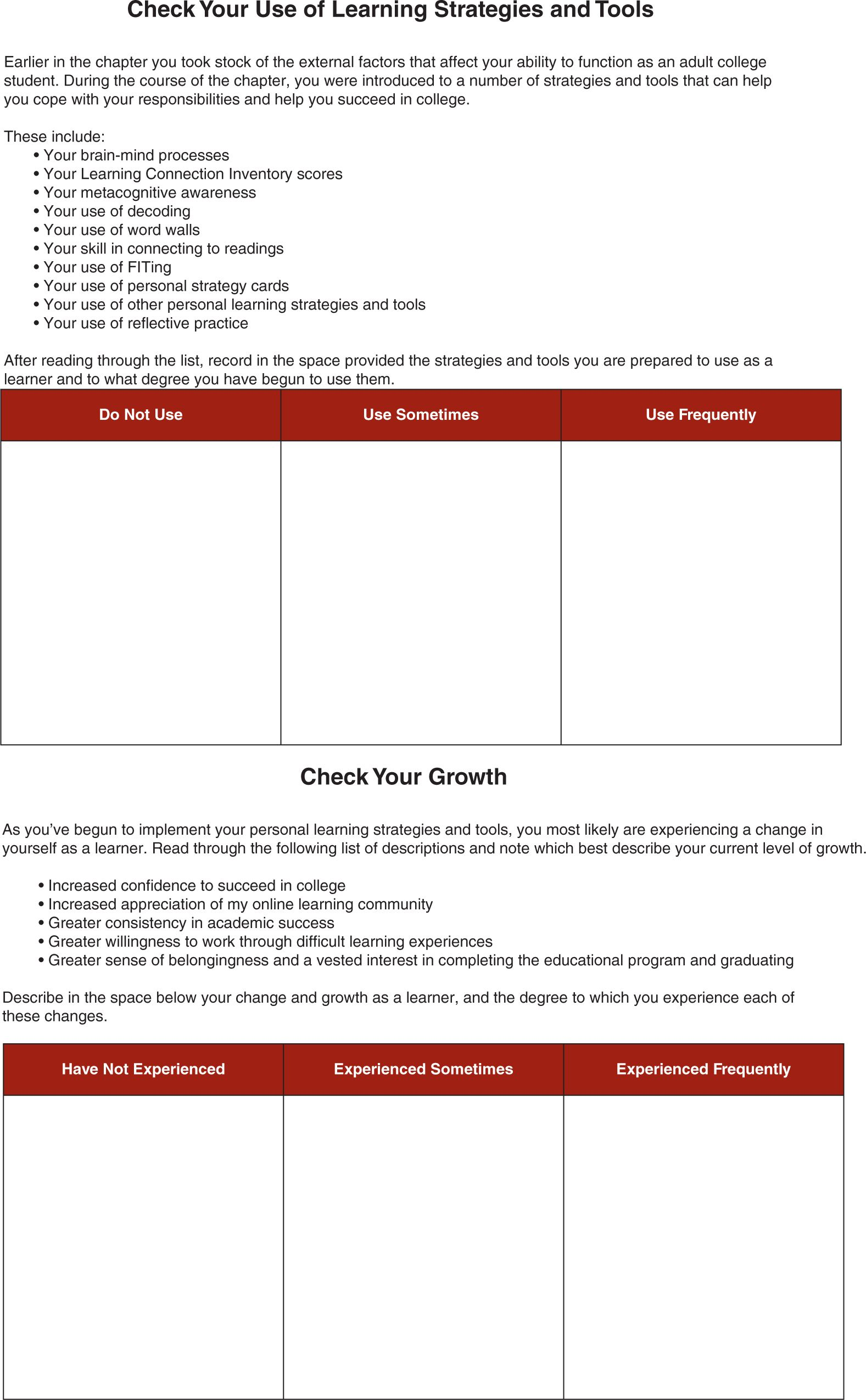 A Worksheet With Directions And Charts For Students To