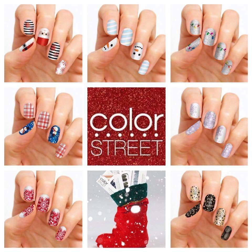 Omg 2017 New Holiday Nails Mark Your Calendars For Anyone Wanting To Order Join My Vip Group For The Best Cust Holiday Nails Color Street Nails Color Street