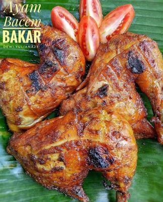 Resep Dan Cara Membuat Ayam Bakar Bumbu Bacem Yang Enak Resep Ayam Resep Masakan Resep