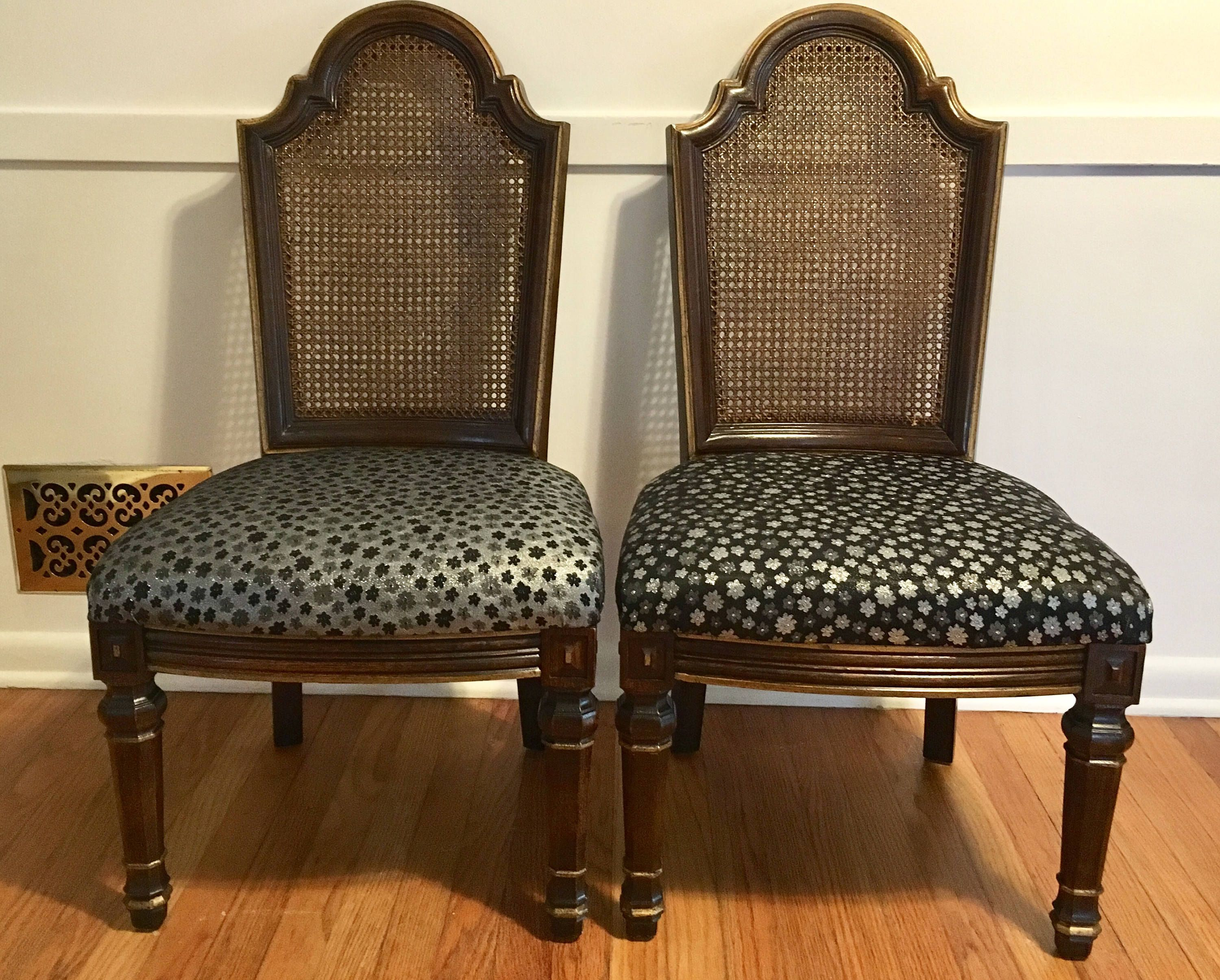 Vintage Henredon Dining Chairs Cane Dining Chairs French country chairs Farmhouse Chairs