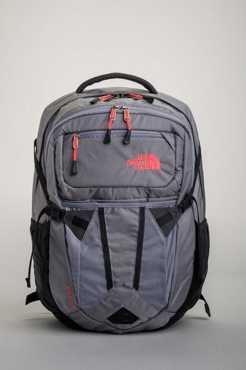 26fe109e5 The North Face Recon Women's Backpack Dapple Grey Heather Neon Coral ...