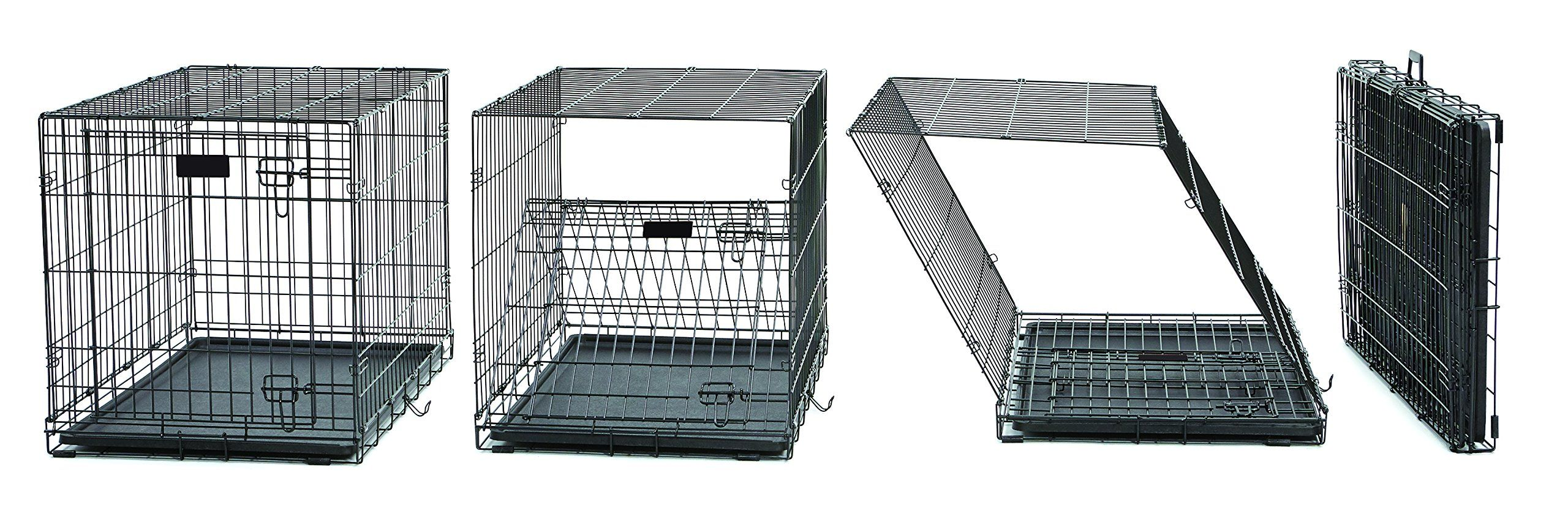 Xl Dog Crate Midwest Life Stages Folding Metal Dog Crate Divider