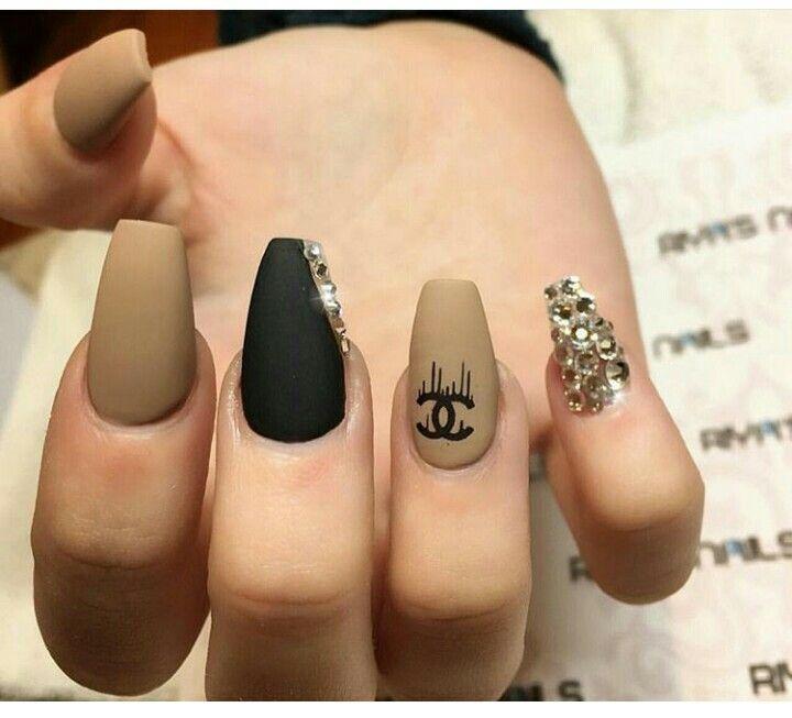 Like The Matte Tan Polish Uas Pinterest Nail Nail Chanel