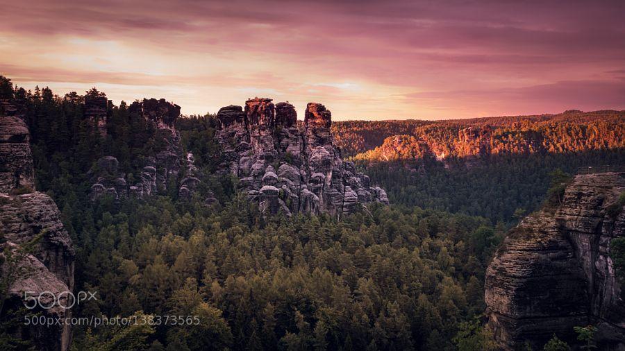 Popular on 500px : The Bastei by Chrisert_Photography
