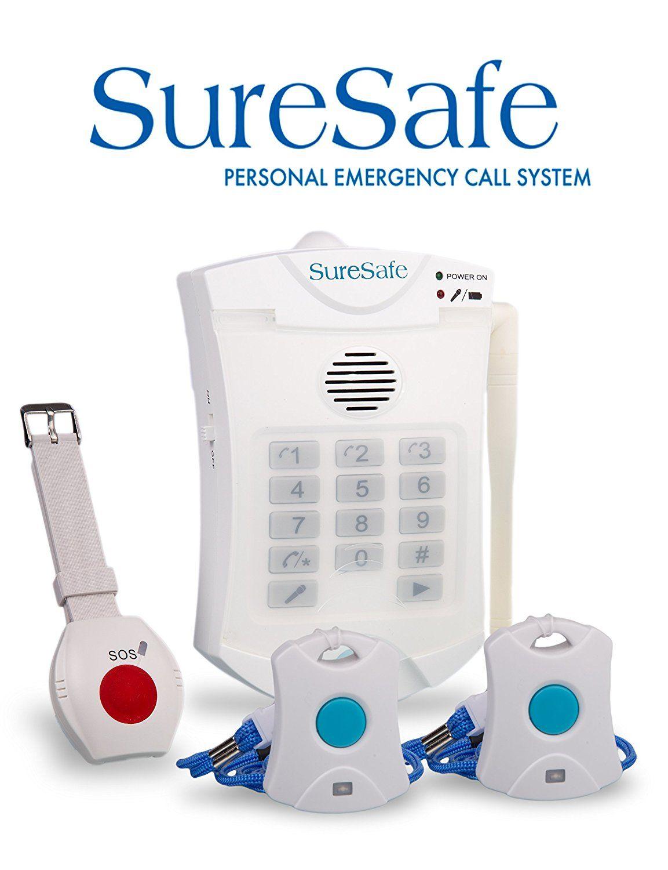 Suresafe personal alarms 1 x wristwatch 1 x pendant 1 free spare suresafe personal alarms 1 x wristwatch 1 x pendant 1 free spare pendant oap aloadofball Images