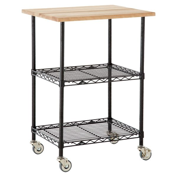 Chef S Cart Black