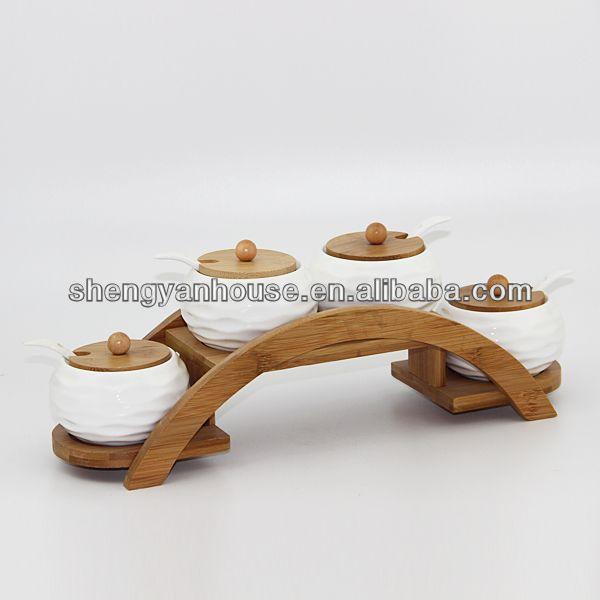 Respetuoso del medio ambiente de bambú utensilios de cocina de ...