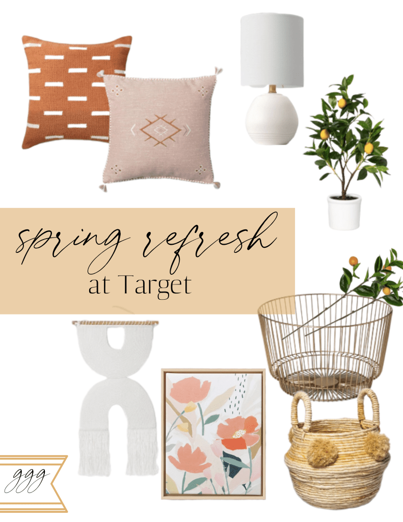 Spring Decor Refresh At Target • Grace Gathered Girl