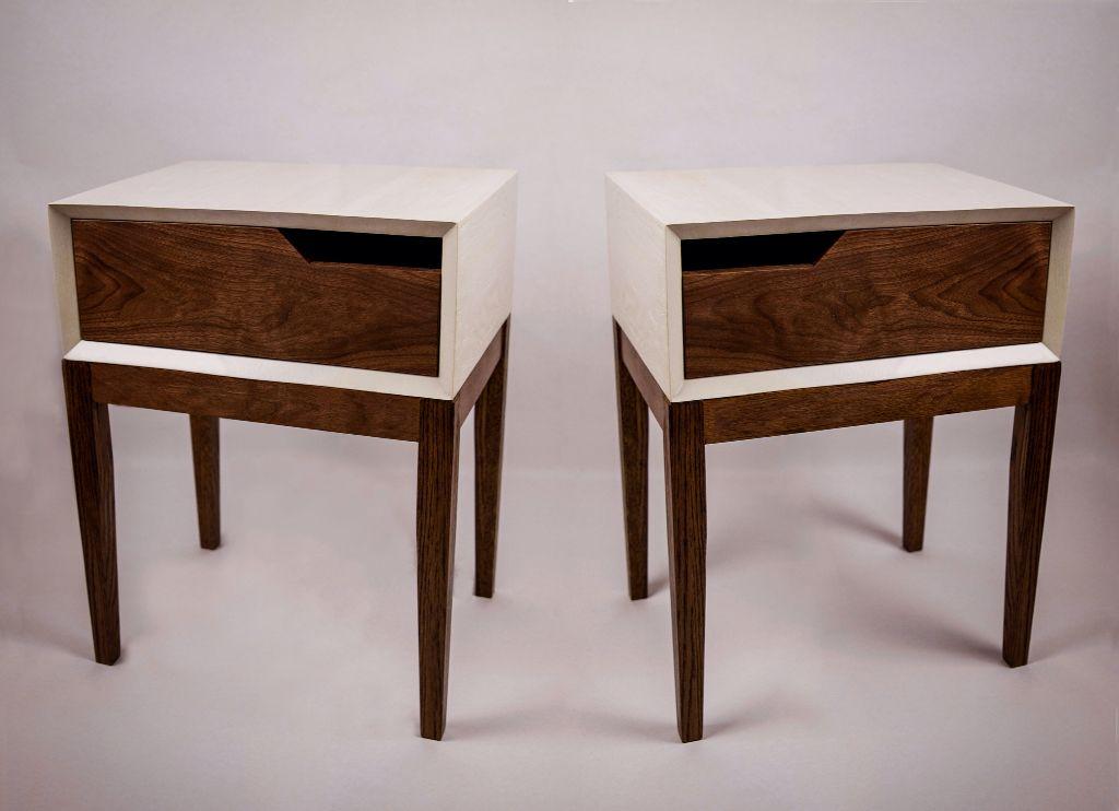 Walnut Bedside Tables Walnut Modern Midcenturymodern Chicago