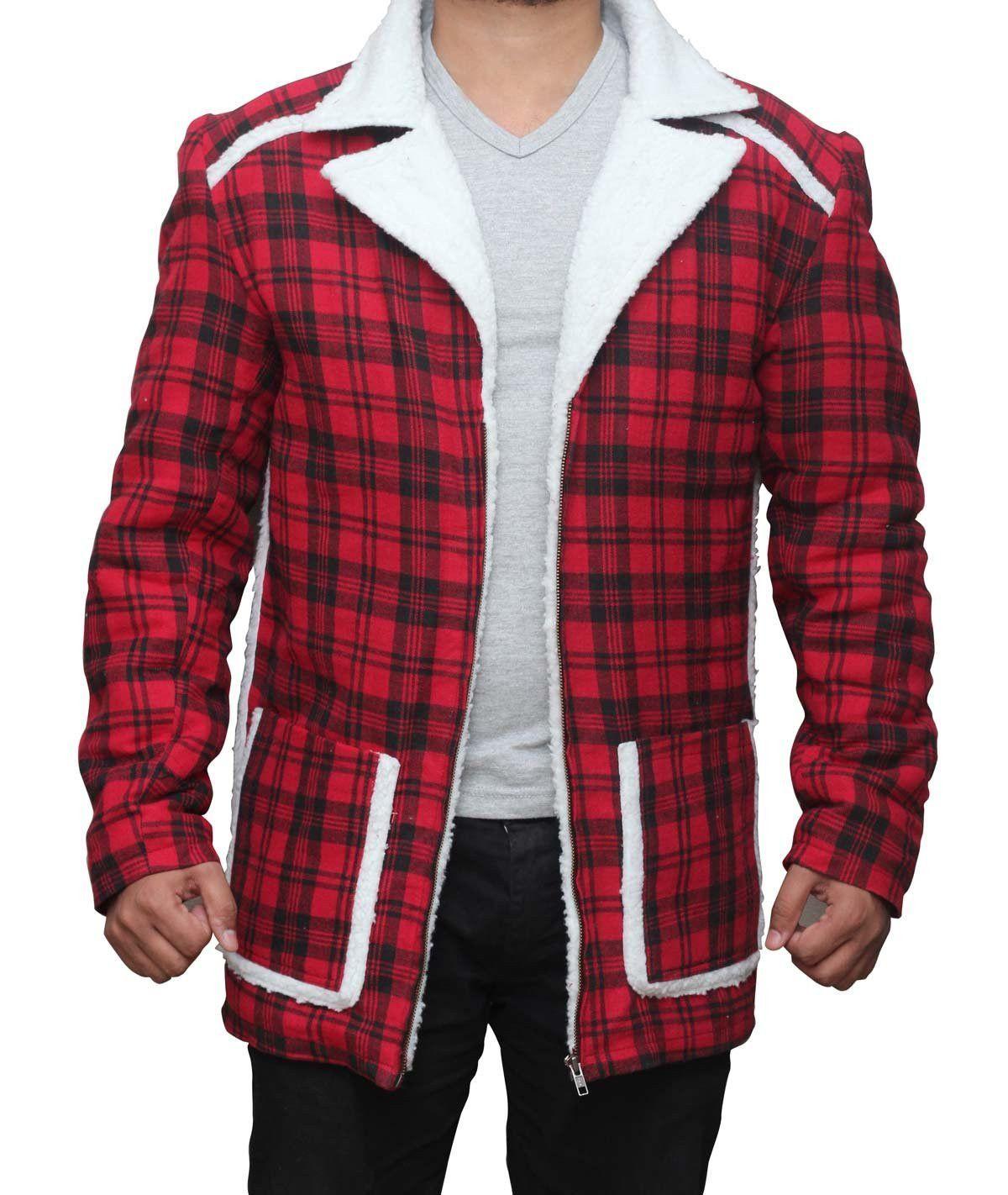 Ryan Reynolds Deadpool Shearling Jacket my swagg