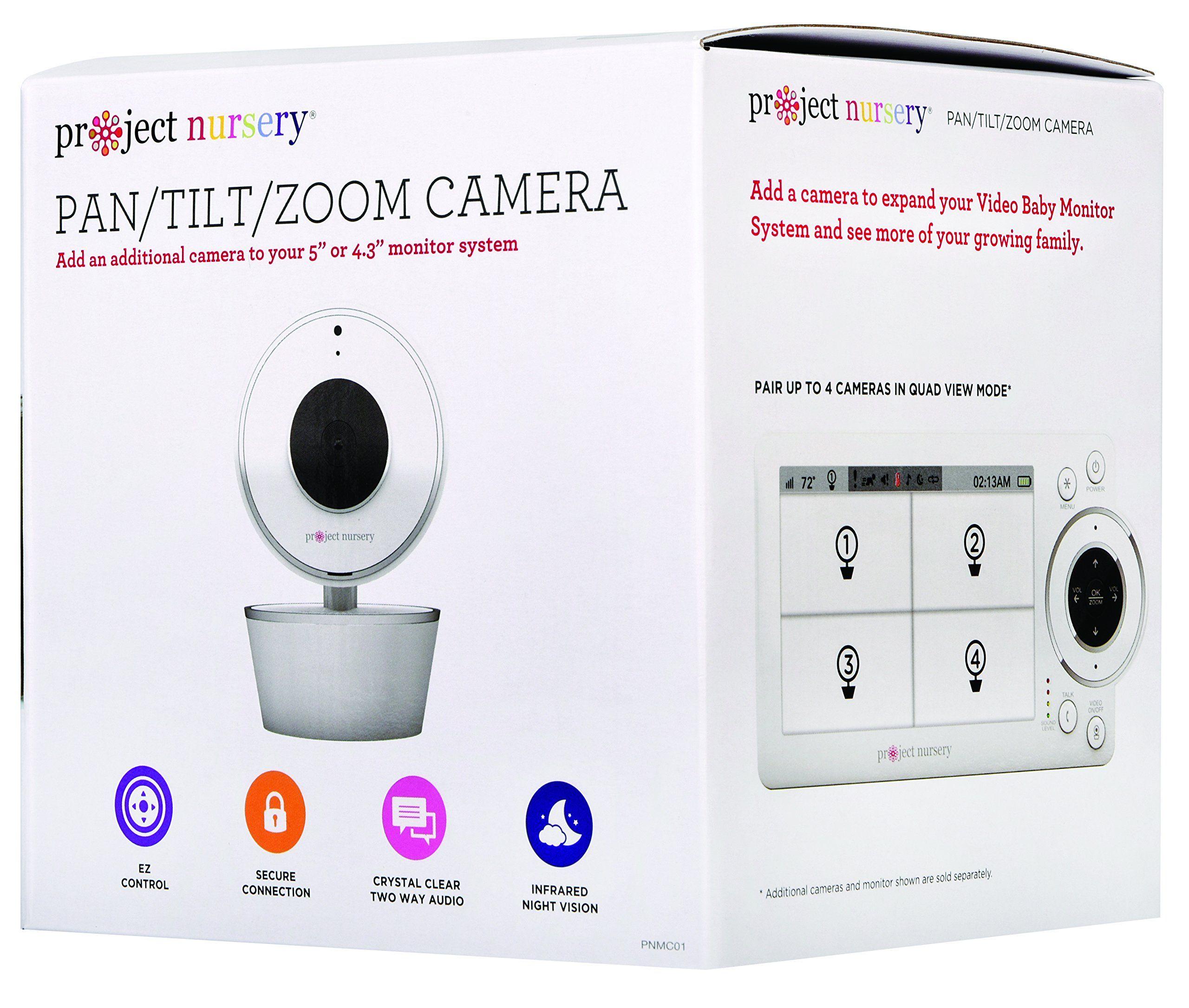 PNM4W01 PNM401 Project Nursery Accessory Pan//Tilt /& Zoom Camera for PNM5W01