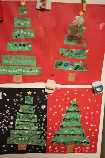 Christmas Tree Paper Craft for Kids (With images)   Christmas tree paper craft, Christmas arts ...